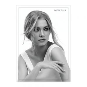 NEWSHA Plakat Blonde BW
