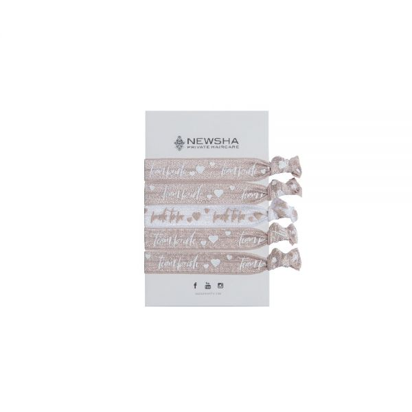NEWSHA Haararmband (5 Stück)